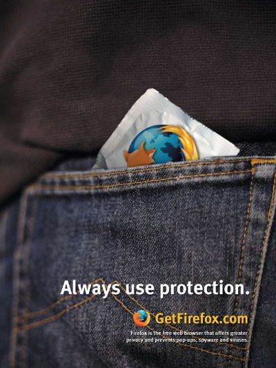 protect with firefox